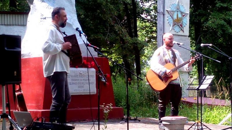 Праздничный концерт в селе Салтановка,